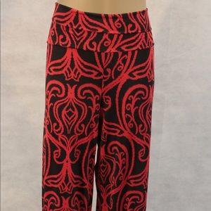 Pants - Red/Black Pants